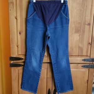 In Due Time Maternity Denim Blue Jeans